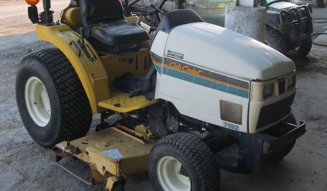 Cub Cadet 7192 Compact Tractor Service Manual Download