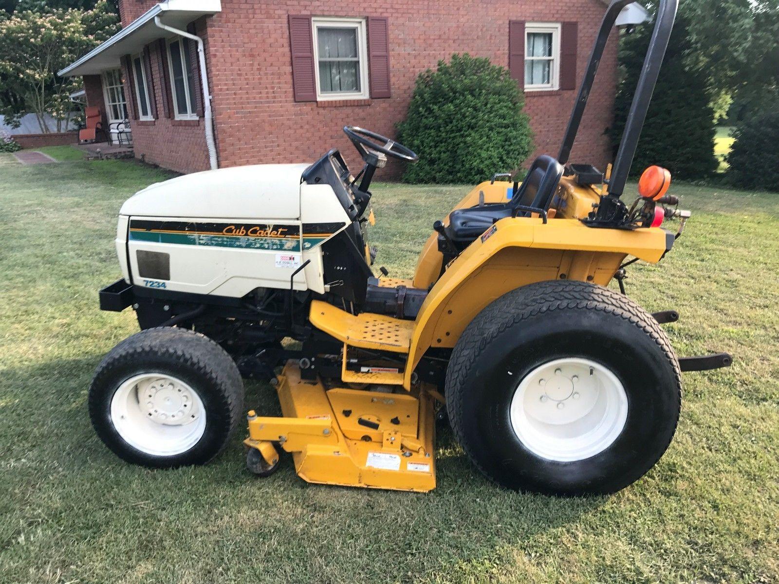 Cub Cadet 7234 Compact Tractor Service Manual Download