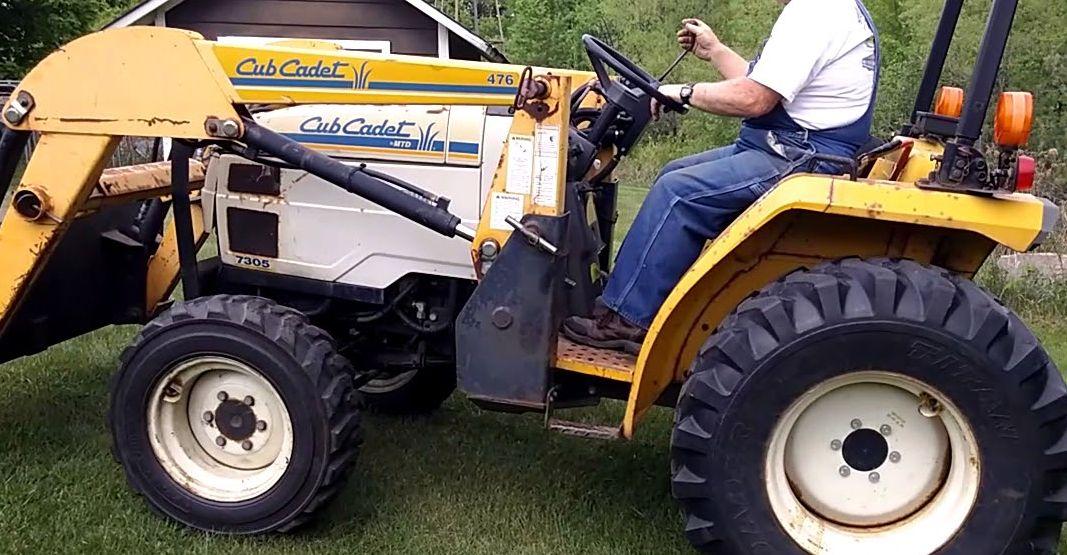 Cub Cadet 7305 Compact Tractor Service Manual Download