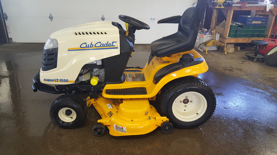 Cub Cadet Slt 1550 Lawn And Garden Tractor Service Manual